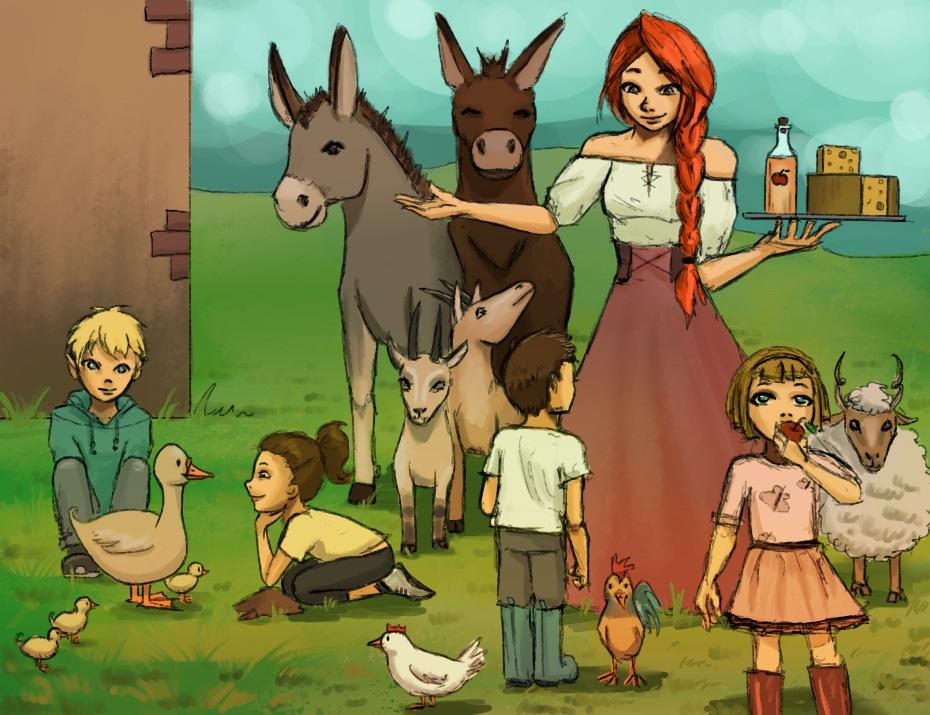 Farmlátogatás