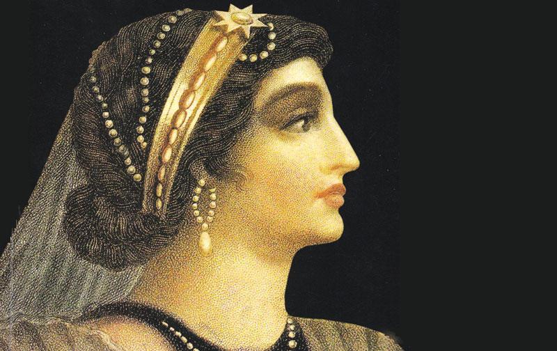 Kleopátra, Egyiptom királynéja, szamártej